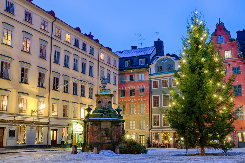 Julmarknader i Stockholm