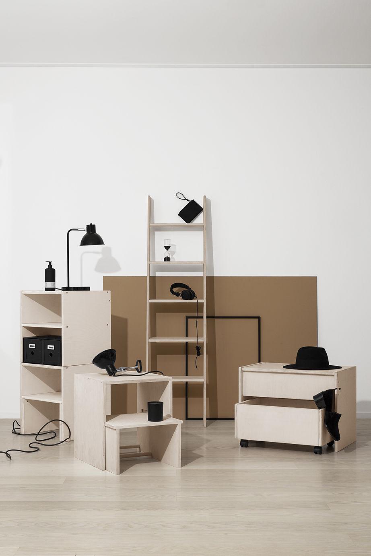 Möbelserie Modulär
